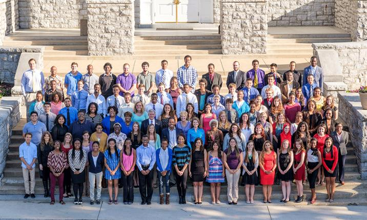 Photo of JMU Centennial Scholars, 2014