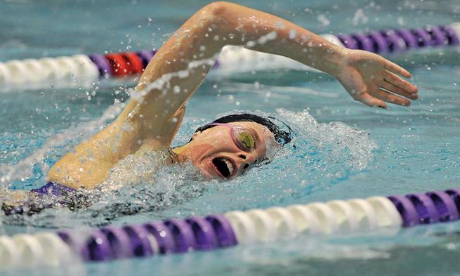 JMU Honors Student Athlete Camilla Czulada  swimming