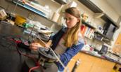 JMU physics major Emily Dick ('16)
