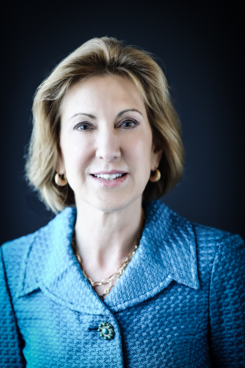 head shot of Carly Fiorina