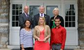 Photo of JMU recipients of Governor's Volunteerism and Community Service Award