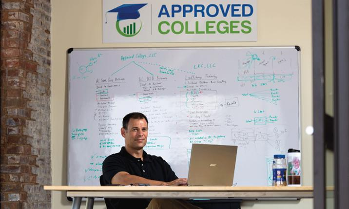 Photo of Tony Huffman, Approved Colleges