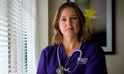 Photo of JMU nursing professor Erica Lewis