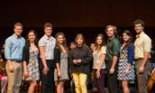 Patti LuPone with JMU students