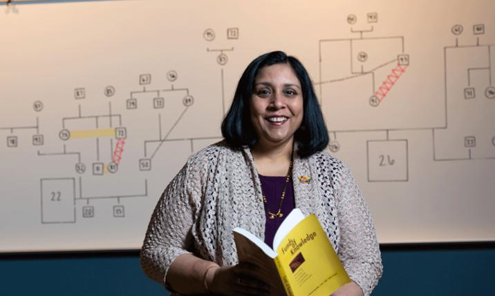 Photo of professor Smita Mathur