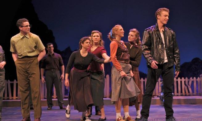 Caitlin McAvoy in JMU production of All Shook Up