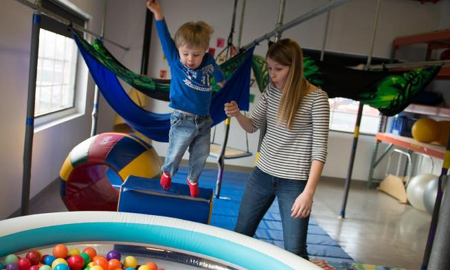 JMU's occupational therapy and kinesiology programs offer programs for community children