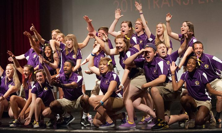 JMU Orientation team