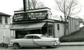 Photo of M and S restaurant, North Main Street, 1962