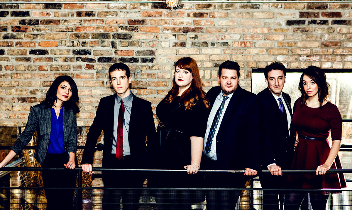 Photo of the cast of Second City by Kirsten Miccoli