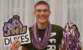 Photo of incoming JMU student at Send Off Picnic