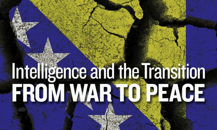 War to Peace Conference, graphic treatment of Bosnia-Herzegovina flag