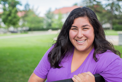 Kristina Rubio is the Graduate Assistant for MAD4U at JMU