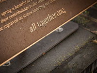 All Together One Plaque