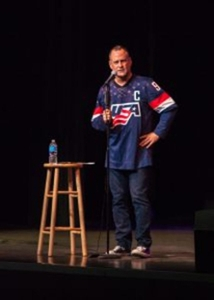 Dave Coulier has a conversation with his audience.