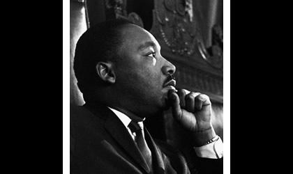 Historic photograph of Dr. Martin Luther King, Jr.