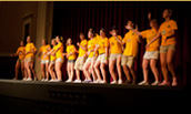 JMU Students Perform the FrOG Dance