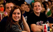 JMU Students Enjoying Comedy at TDU