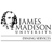 Rendering of bust of James Madison, text James Madison University Dining Services