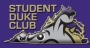 Student Duke Club, graphic of Virginia with Duke Dog eyes and partial face