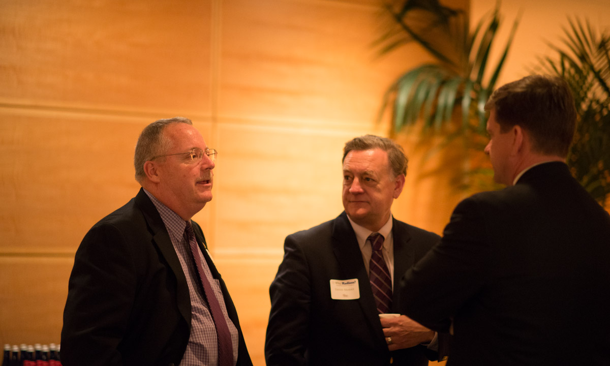 Bill McAnulty ('81), David Brakke and David Chipman ('83)