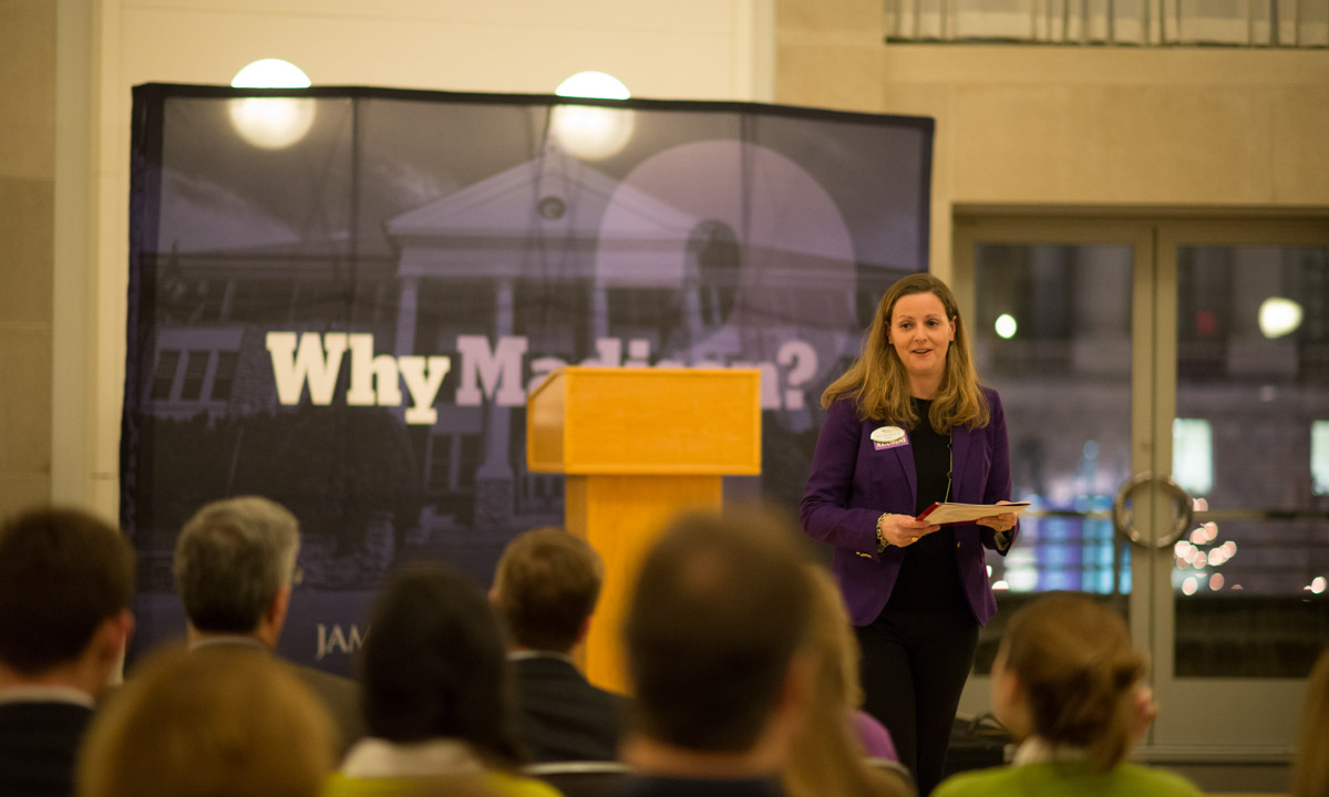 Jamie Jones Miller '99 (JMU Alumni Association President)