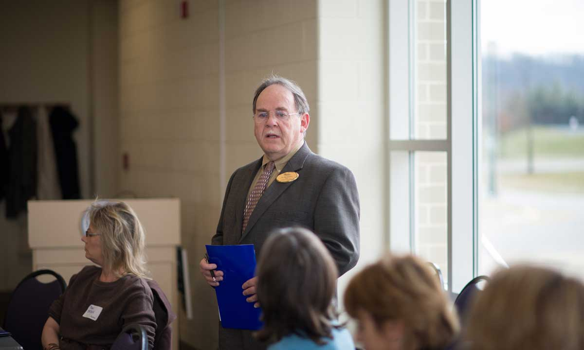 Dr. Phil Wishon, Dean, College of Education