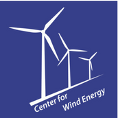 this is the logo for the center for wind energy