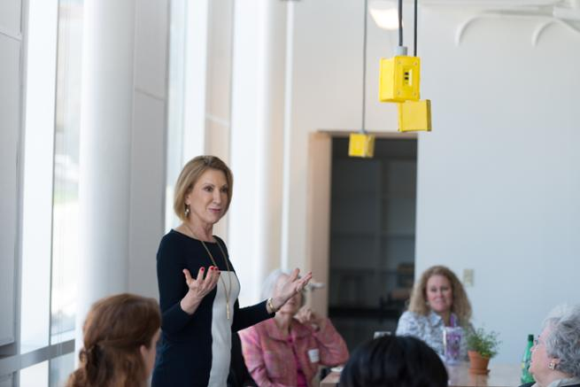Carly Fiorina addresses Women for Madison
