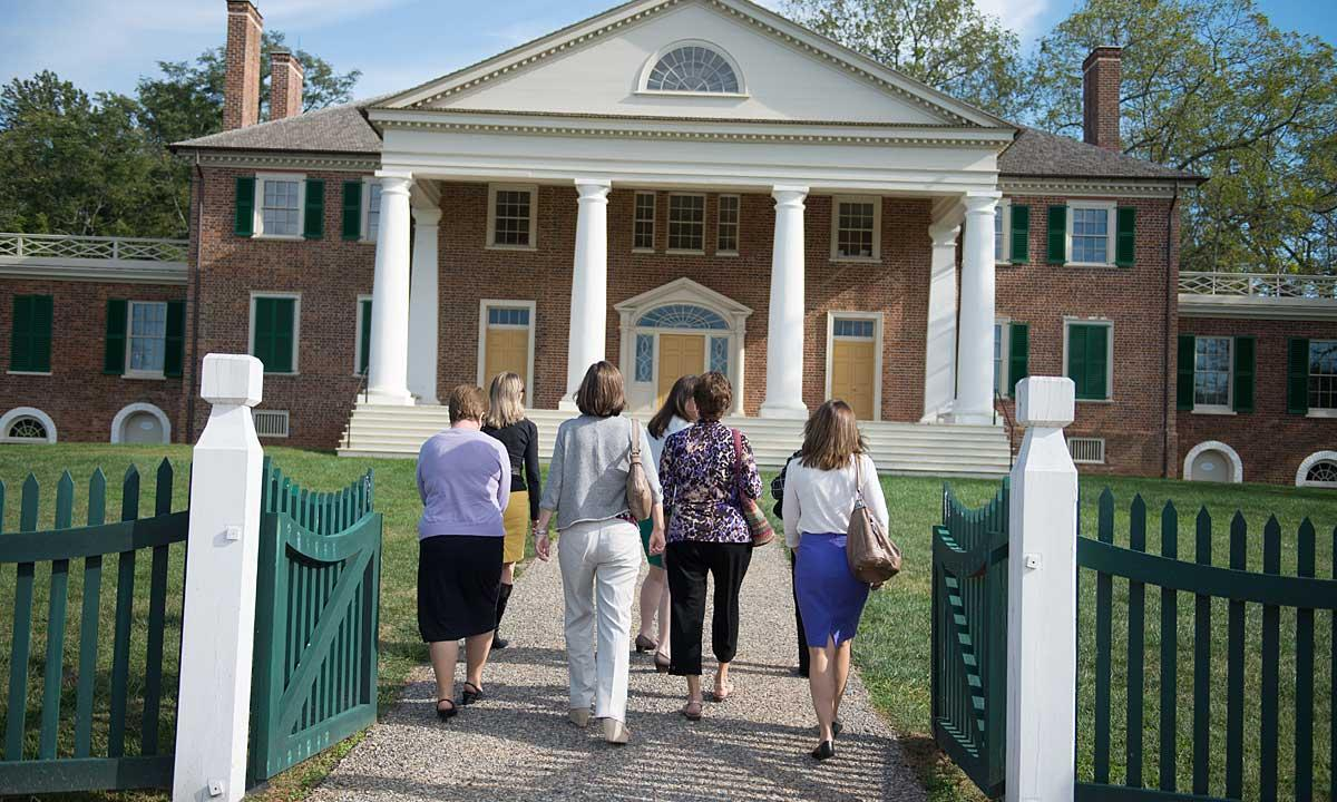 Women for Madison tour Montpelier, home of James and Dolley Madison