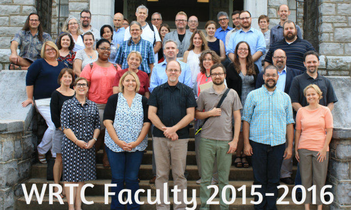 WRTC Faculty 2015-2016 front page