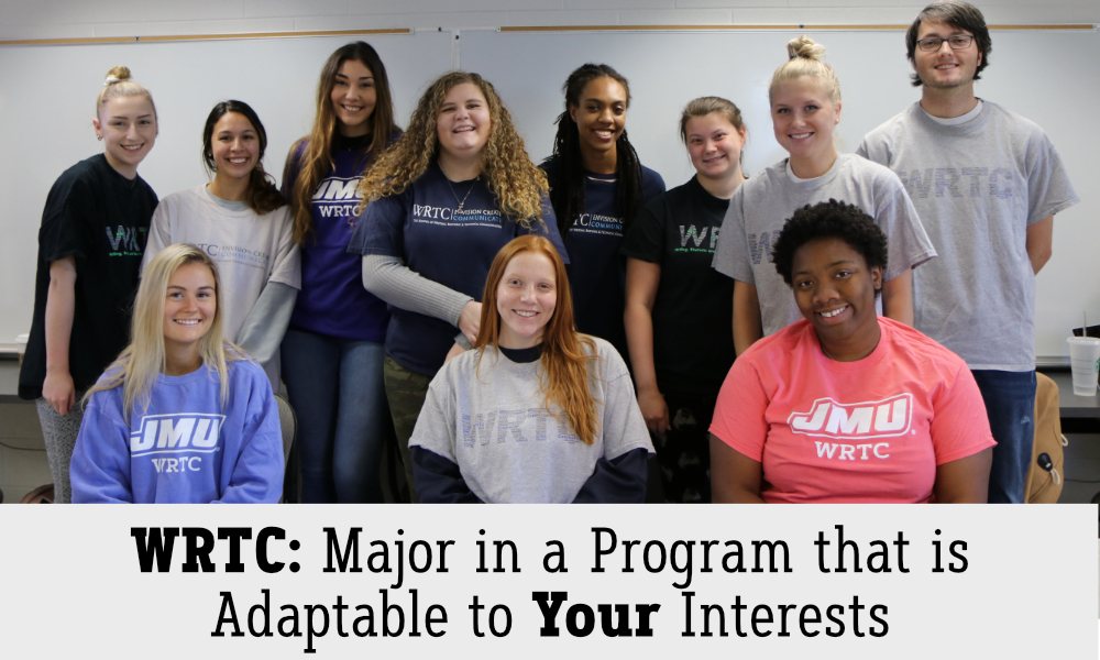 Major in a program that is adaptable to your interests