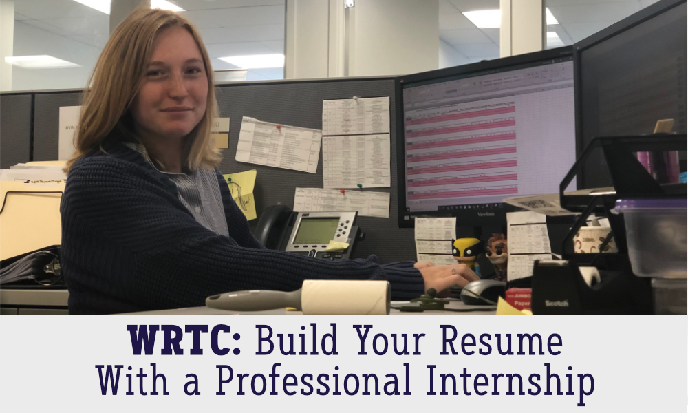 Build your resume with a professional internship