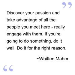 Quote by Whitten Maher