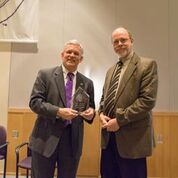 Scott Lunsford receives Honors Teaching and Service award
