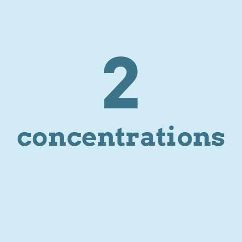 2 concentrations