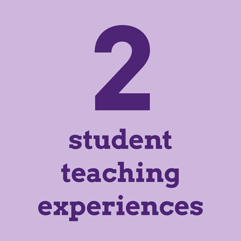 2 student teaching experiences