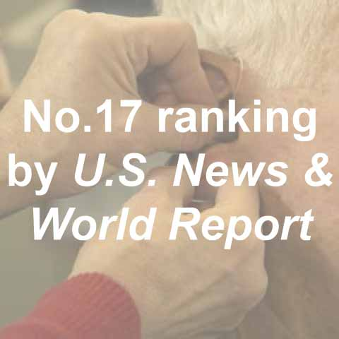 No. 17 ranking by U.S. News & World Report