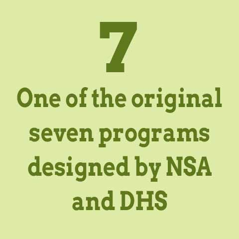 one of the first info sec programs in the U.S.
