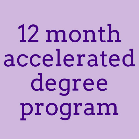 12 month accelerated degree program