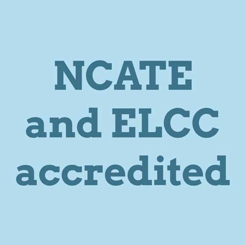 NCATE and ELCC accredited
