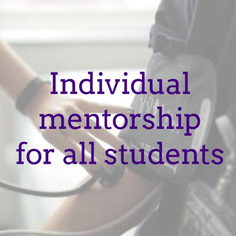 Individual mentorship for all students