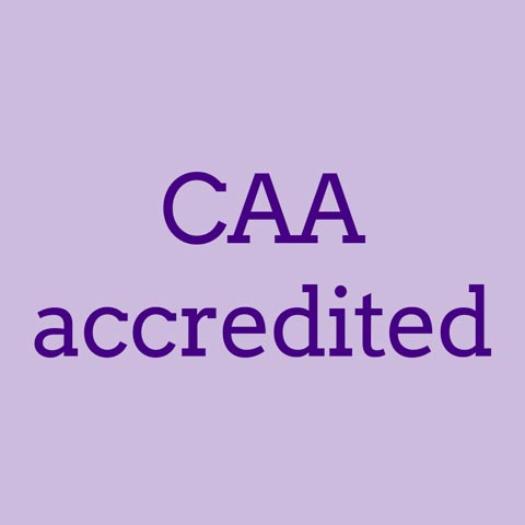 CAA accredited