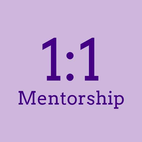 One to one mentorship