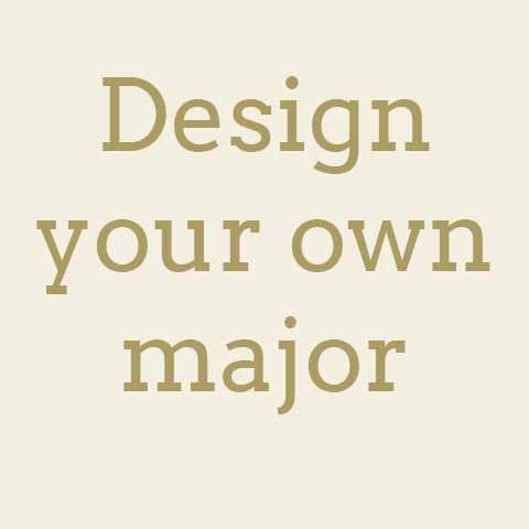 Design your own major