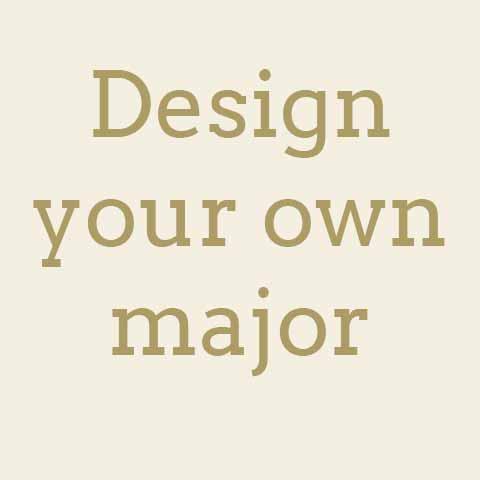 Self-designed majors?
