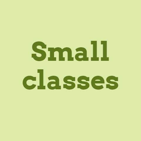 Small classes