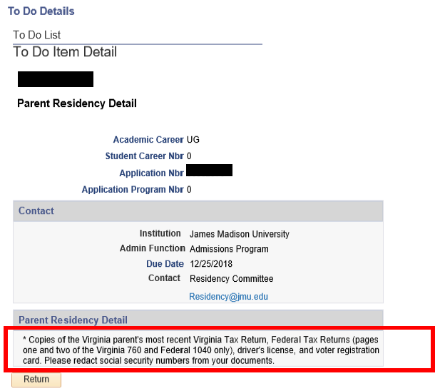 Proof Of Residency Letter From Parent from www.jmu.edu