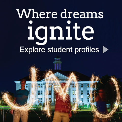 Where dreams ignite - Explore student profiles