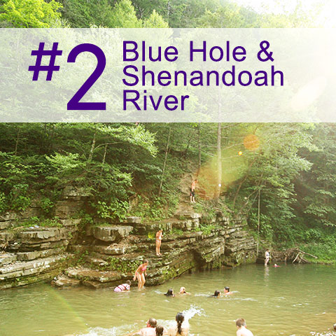 #2 Blue Hole and Shenandoah River